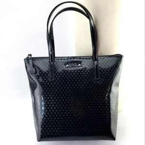 Kate Spade Patent Leather Small Shoulder Tote Bag